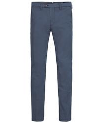 Męskie niebieskie spodnie typu chino  3632