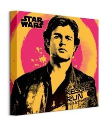 Solo: a star wars story kessel run punk - obraz na płótnie