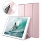 Etui alogy smart case do apple ipad mini 5 2019 różowe + szkło - różowy