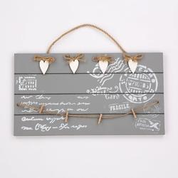 Zawieszka  ozdoba dekoracja tabliczka drewniana wisząca altom design prostokątna 4 wzory