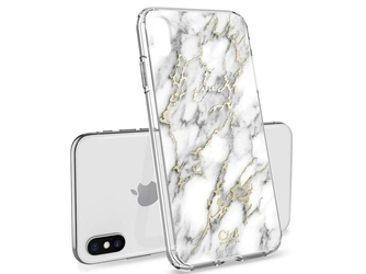 Etui spigen ciel do apple iphone xs max cecile glossy marble - marmur