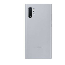 Samsung Etui Leather Cover Note 10 Plus szary