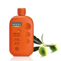 Nikel, Jedwabiste mleczko do ciała z masłem kokosowym, SPF30 UVAUVB, 230ml