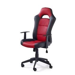 Speed fotel gamingowy dla graczy czarno-czerwony