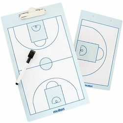 Obustronna tablica taktyczna do koszykówki Molten - SB0020