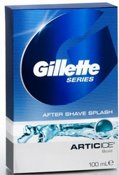 Gillette Series Arctic Ice, woda po goleniu, 100ml