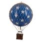 Authentic models balon royal aero, niebieski w gwiazdy ap163bs