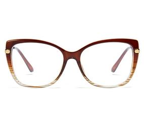 Okulary komputerowe damskie z filtrem blue light zerówki 2549-1