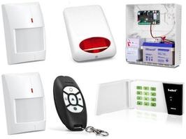 Zestaw alarmowy satel micra, led, 2 piloty, 2 czujki bezprzewodowe, sygnalizator zewnętrzny - możliwość montażu - zadzwoń: 34 333 57 04 - 37 sklepów w całej polsce