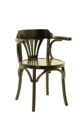 Authentic models krzesło navy chair, czarne mf046b