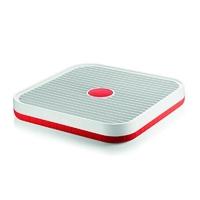 Guzzini - tidy  clean - ociekacz do naczyń, czerwony - czerwony