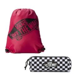 Zestaw worek torba vans banched bag + piórnik vans