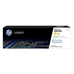 HP Oryginalny toner CF542A, 1300s, HP 203A, HP Color LaserJet Pro M254dw, nw, M280nw ŻÓŁTY