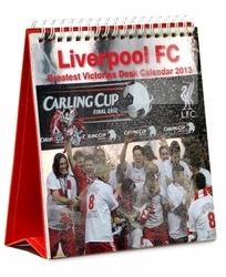 Liverpool - kalendarz biurkowy 2013