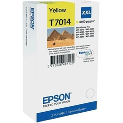 Tusz oryginalny epson t7014 c13t70144010 żółty - darmowa dostawa w 24h
