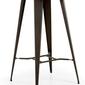 Metalowy stolik malibu czarny
