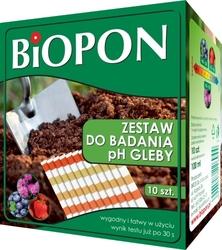 Zestaw do badania ph gleby – kwasomierz – biopon