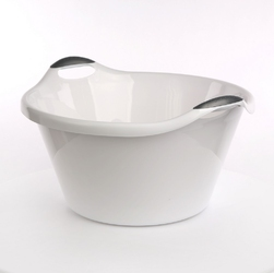 Miska  miednica łazienkowa plastikowa artgos biała 25 l