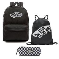 Zestaw vans otw plecak realm worek piórnik do szkoły