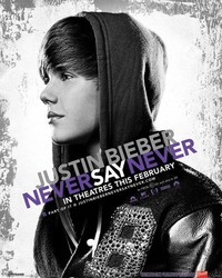 Justin Bieber Never Say Never - plakat