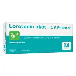 Loratadin akut 1a pharma tabl.
