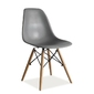 Krzesło do jadalni orso grey szare
