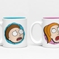 Rick and morty characters - kubki do espresso