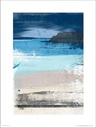 Abstract beach - plakat premium