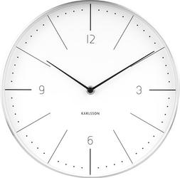 Zegar ścienny Normann 27,5 cm biały