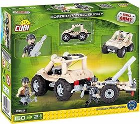 Small Army Border Patrol Buggy 150 klocków