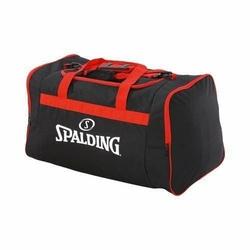 Torba sportowa duża Spalding Basketball Team - Czarno-czerwone