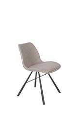 Zuiver krzesło brent air szare 1100413