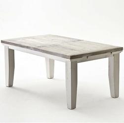 Postarzany rozkładany stół 140 arhus