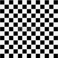 Obraz na płótnie canvas dwuczęściowy dyptyk bezszwowych czarno-białych kratkę tekstury