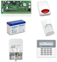 Zestaw alarmowy satel perfecta 16, klawiatura lcd, 1 czujnik ruchu, sygnalizator zewnętrzny, powiadomienie gsm - możliwość montażu - zadzwoń: 34 333 57 04 - 37 sklepów w całej polsce