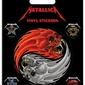 Metallica Yin and Yang Skulls - naklejki
