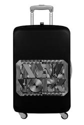 Pokrowiec na walizkę LOQI Type New York Retro