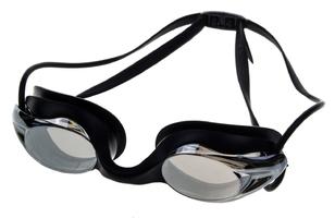 Okulary do pływ.vivo b-0106 czarne lustrzane treningowe