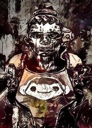 Legends of bedlam - lucio, overwatch - plakat wymiar do wyboru: 21x29,7 cm