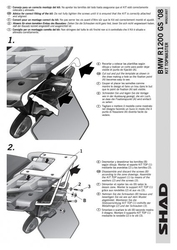 Stelaż kufra tył shad bmw r1200 gs - 0312