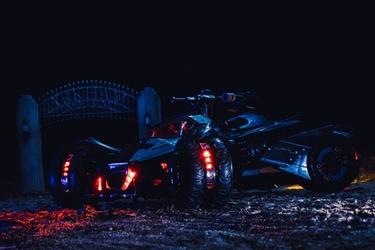 Batmobile ver1 - plakat wymiar do wyboru: 70x50 cm