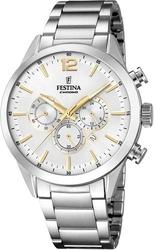 Festina timeless chronograph f20343-1