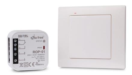 Zestaw sterowania bezprzew. exta free rzb-01 rnk02+rop01 - szybka dostawa lub możliwość odbioru w 39 miastach