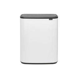 Brabantia - kosz bo touch bin, 60 l - biały - biały