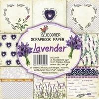 Ozdobne papiery do rękodzieła - lavender