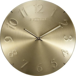 Zegar ścienny elegant dome złoty