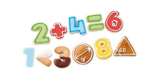 Tescoma wykrawacze cyfry delicia kids 21 szt.