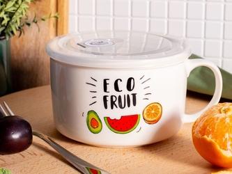 Lunch box  śniadaniówka z pokrywką hermetyczną altom design eco fruit