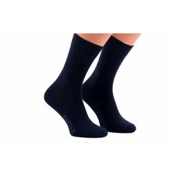 Granatowe męskie bawełniane skarpety patine socks