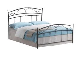 Łóżko Marietta 160x200 czarne